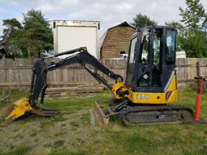 John Deere Mini Excavator 27d