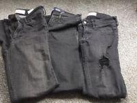 Hollister girls skinny jeans x3