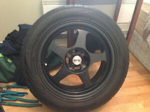 """15"""" mags and tires"""