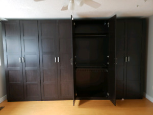 4 tall wardrobes (need gone asap)
