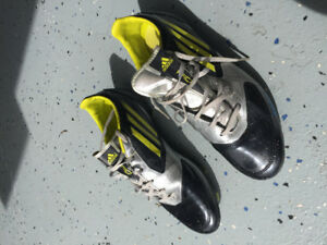 Adidas Cleats size 8.5, allmost new - $25