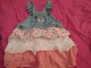 Baby girl 12-18 months clothes 1 dollar each
