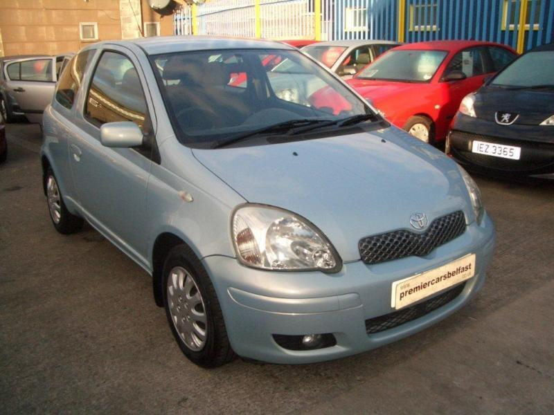 2004 toyota yaris 1 0 vvt i blue 3dr in donegall road belfast gumtree. Black Bedroom Furniture Sets. Home Design Ideas