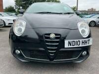 Alfa Mito 1.4 2010 black 3 door good tidy car. Runs drives smooth cheap 1st car.