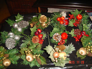 LARGE SELECTIONS OF PINE CONE PIC ACCENTS FOR DECORATING/CRAFTS