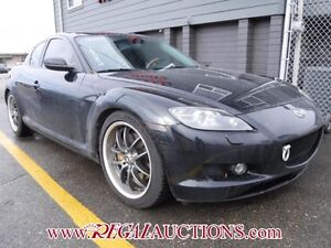 2004 MAZDA RX8  4D COUPE