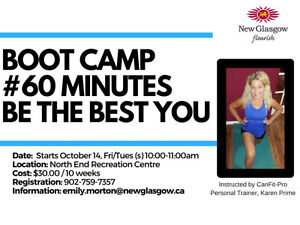 Invest in yourself today - 20 Bootcamp classes for $30!