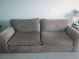 Next Michigan Extra Large (4 seater) and Small (2 seater) Sofas in Min