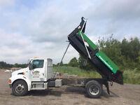 Single Axle Stirling Dump Truck
