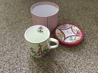 Vintage by Orchard designer cup.