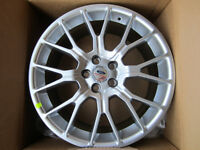 """BRAND NEW 20"""" Ford Racing wheels for a Mustang!"""