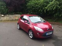 Ford Ka zetec in red comes with 12 months mot