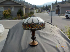 One Tiffany Lamp