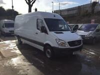 Mercedes-Benz Sprinter LWB white manual