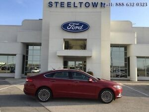 2017 Ford Fusion SE AWD LEATHER/MOONROOF   - $168.66 B/W
