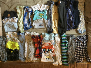 Boy clothing lot - 0-9 months
