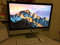 Apple iMac 27 inch (10,1 model) 8gb RAM, 240gb SSD, Core2Duo 3.06ghz, MacOS Sierra