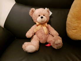 """""""Homleys""""taddy bear +Free 12 different size and type's of soft plush t"""
