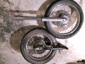 Honda cb750k front and rear end