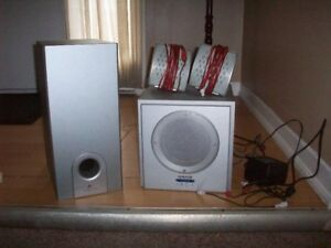 4 pc Craig Prime Sound System
