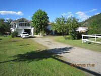 Beautifull west Kootenay , River front acreage