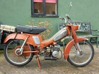 MOBYLETTE 49cc 1971 - Please watch the video BEST LEARNER LEGAL MOPED FASTEST