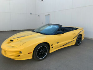 2002 Collectors Edition Trans Am Convertible