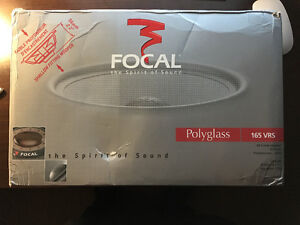 FOCAL POLYGLASS 165 vrs Component Speakers 6.5""