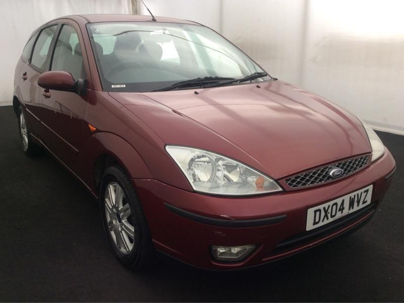 2004 FORD FOCUS 1.6i GHIA..12 MONTHS MOT..5DR HATCH..LOOKS+DRIVES GOOD