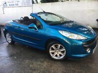Peugeot 2008 207 CC Sport 1.6 16v Petrol Manual Convertible