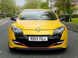 2013 13 Renault Megane 2.0 RS 265 Renaultsport S/S CUP CHASIS+RECARO+RS MONITOR