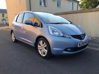 2009 HONDA JAZZ 1.4 EX 5DR PANROOF PRIVACY GLASS CRUISE CONTROL CLIMATE ONLY 74K