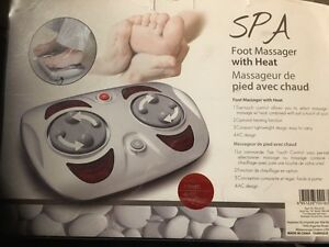 Spa Foot Massage with  Heat