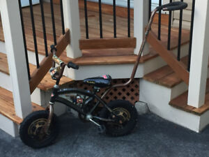 Mater Kids Bike with removable push handle