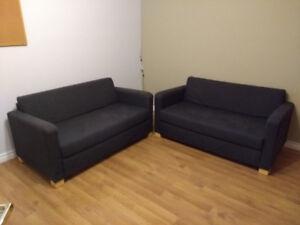 Sofa - futon deux places