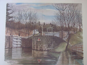 THE RIDEAU CANAL STORY PRINTS Cornwall Ontario image 5