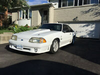 Clean White 1992 Ford Mustang Gt Cobra