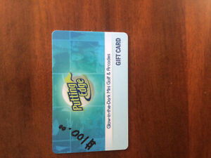 $100 Gift Card for only $90 obo