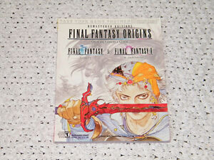 Strategy Guide Final Fantasy Origins Official