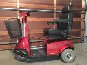 Mobility Scooter - Fortress 1703DT 3-Wheel Scooter
