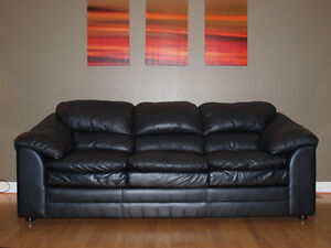 Leather Couch&Loveseat