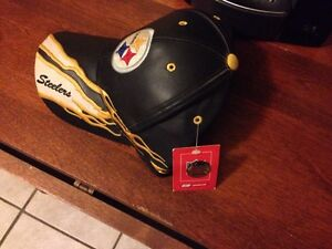Steelers Leather Hat