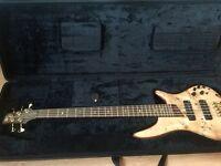 Ibanez SR 1605 nt. 5 string active bass guitar.