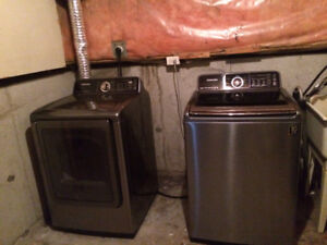 SAMSUNG WASHER AND DRYER !!!