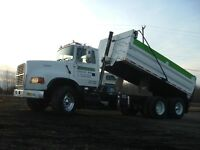 HAULING SOIL, GRAVEL, ROAD CRUSH DELIVERY