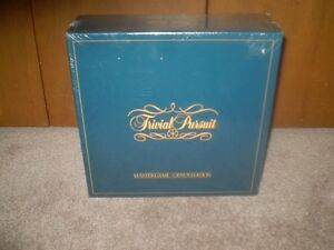 TRIVIAL PURSUIT ( GENUS EDITION ) New Sealed Box ( 1981 )