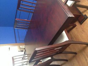 Sofa set and dining table set