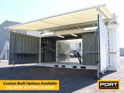 Portable Shipping Container Workshops - Brand New - Brisbane