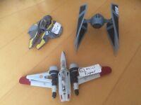 Star Wars star fighter , mini fighter , mini tie fighter