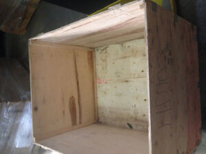 Export  wood crates , very strong West Island Greater Montréal image 1